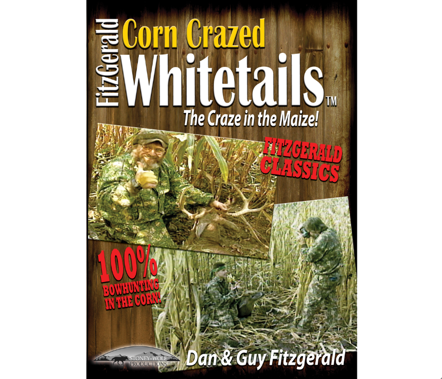 FITZGERALD CORN CRAZED WHITETAILS DVD
