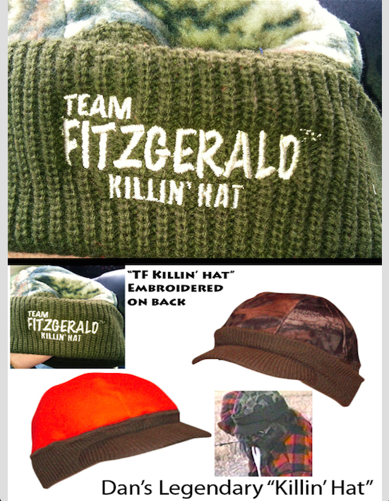 DAN FITZGERALD KILLIN' HAT DEER DANDER DISCOUNT PACKAGE