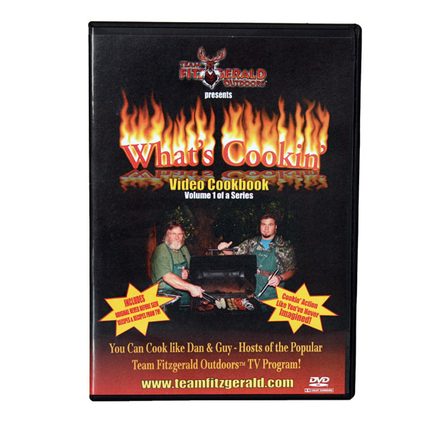 FITZGERALD WHAT'S COOKIN' DVD COOKBOOK